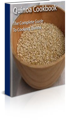 A book of quinoa recipes and background information about Quinoa